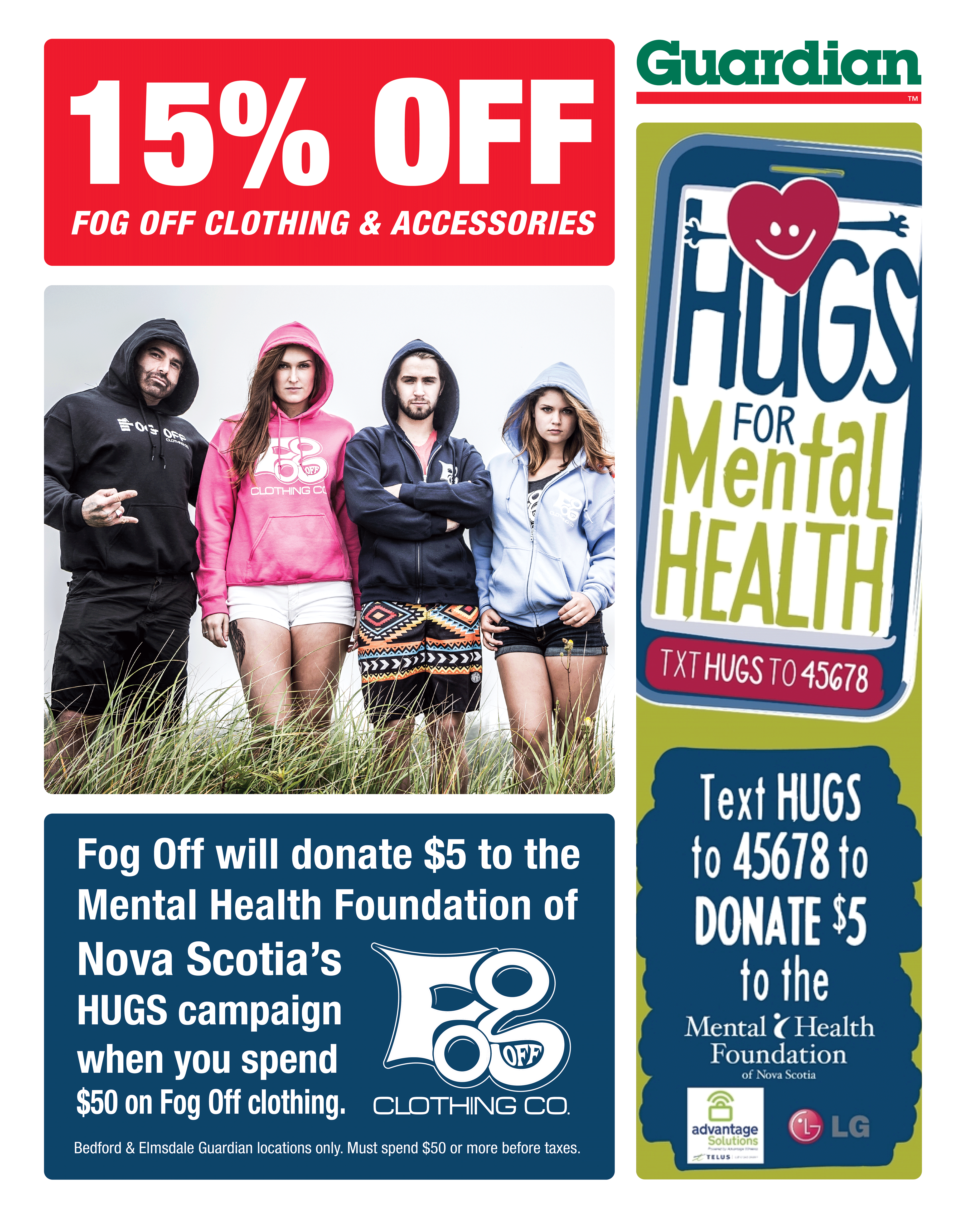Hugs for Mental Health