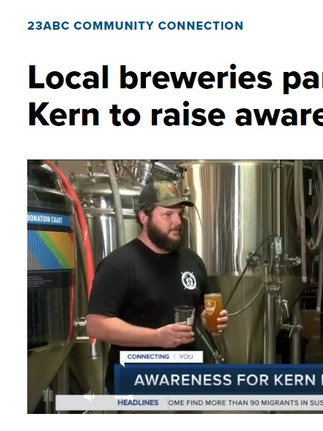 Local breweries partner with Bring Back the Kern to raise awareness for Kern River