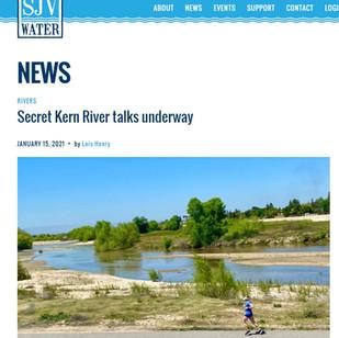 Secret Kern River talks underway - January 15, 2021