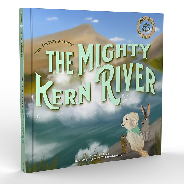 The Mighty Kern River Book Reveal and Release