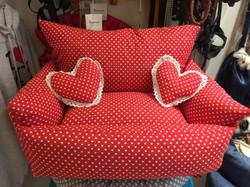 cuccia divano pois rossa