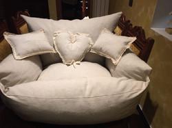 cuccia divano beige