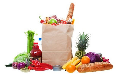 An example of food items given at The Sumner Community Food Bank