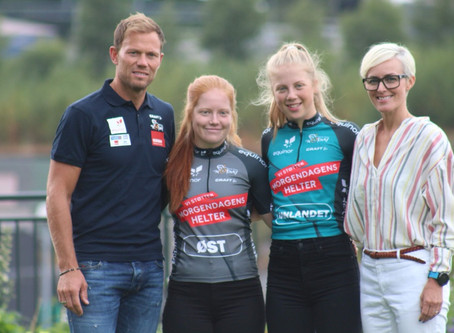 CK Nittedal-jenter på Artic Race