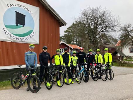 Veteranene på sesongsoppstart i Sverige