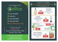 Pharmacie de Cestas - Flyer A5 R°V°