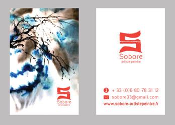 Sobore - carte de visite R°V°