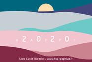 e-carte de Voeux - KSB Graphiste