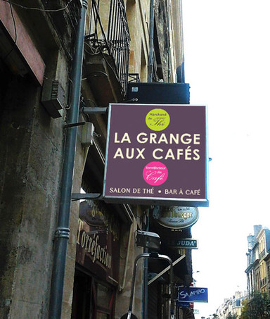 LA GRANGE AUX CAFÉS - Enseigne lumineuse