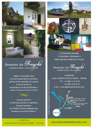 Le Freyche - Marque page Flyer, format 7 x 20 cm, R°V°