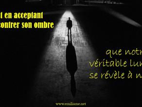 🌚 Rencontrer son ombre pour découvrir sa véritable lumière : une des clés de la renaissance !🌝⭐