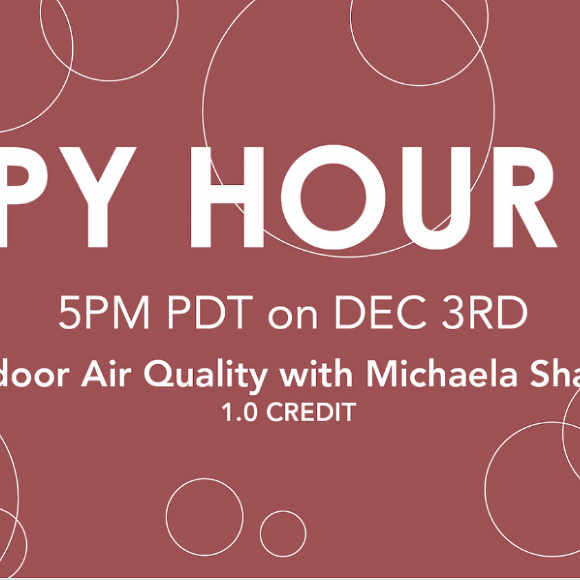 """""""Indoor Air Quality"""" with Michaela Shaw"""