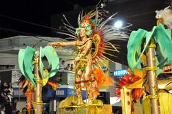Carnaval no canto do Hotel