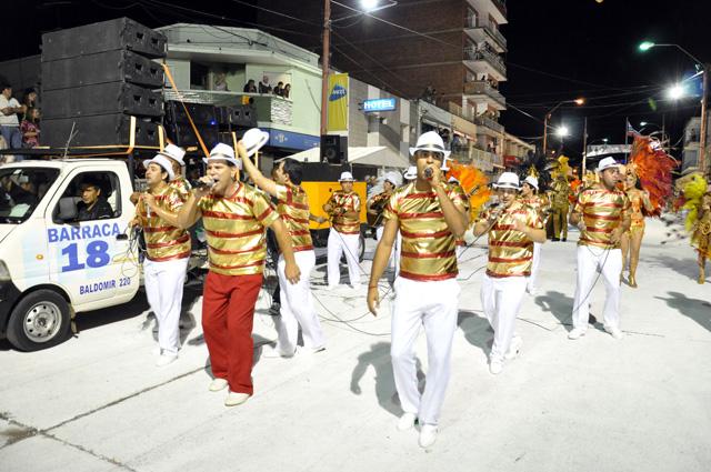 Ritmo en el Carnaval de Artigas