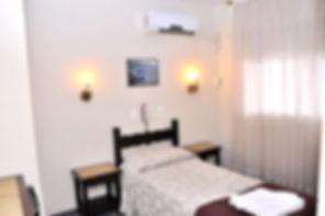 Habitación Single del Hotel del Norte, Artigas, Uruguay