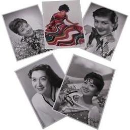 フレーム切手セット「昭和の時代を彩る名女優たち」
