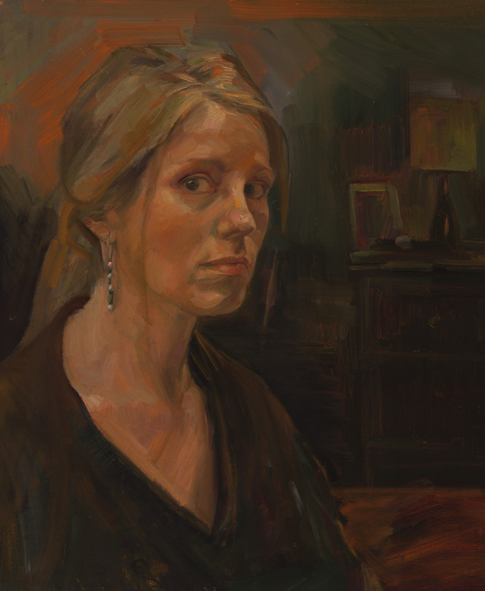 Dagmar's painting 'Into the Light' named as one of 26 finalists in the $50K Muswellbrook