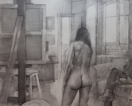 Cyrulla_Dagmar_The Artist and the Model.