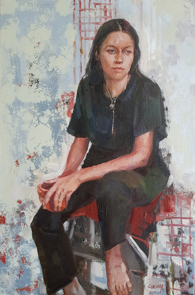 'A New Beginning' is a finalist in the inaugural Darling Portrait Prize