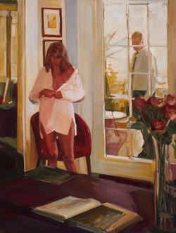 The room 122 x 91cm oil on linen $6500