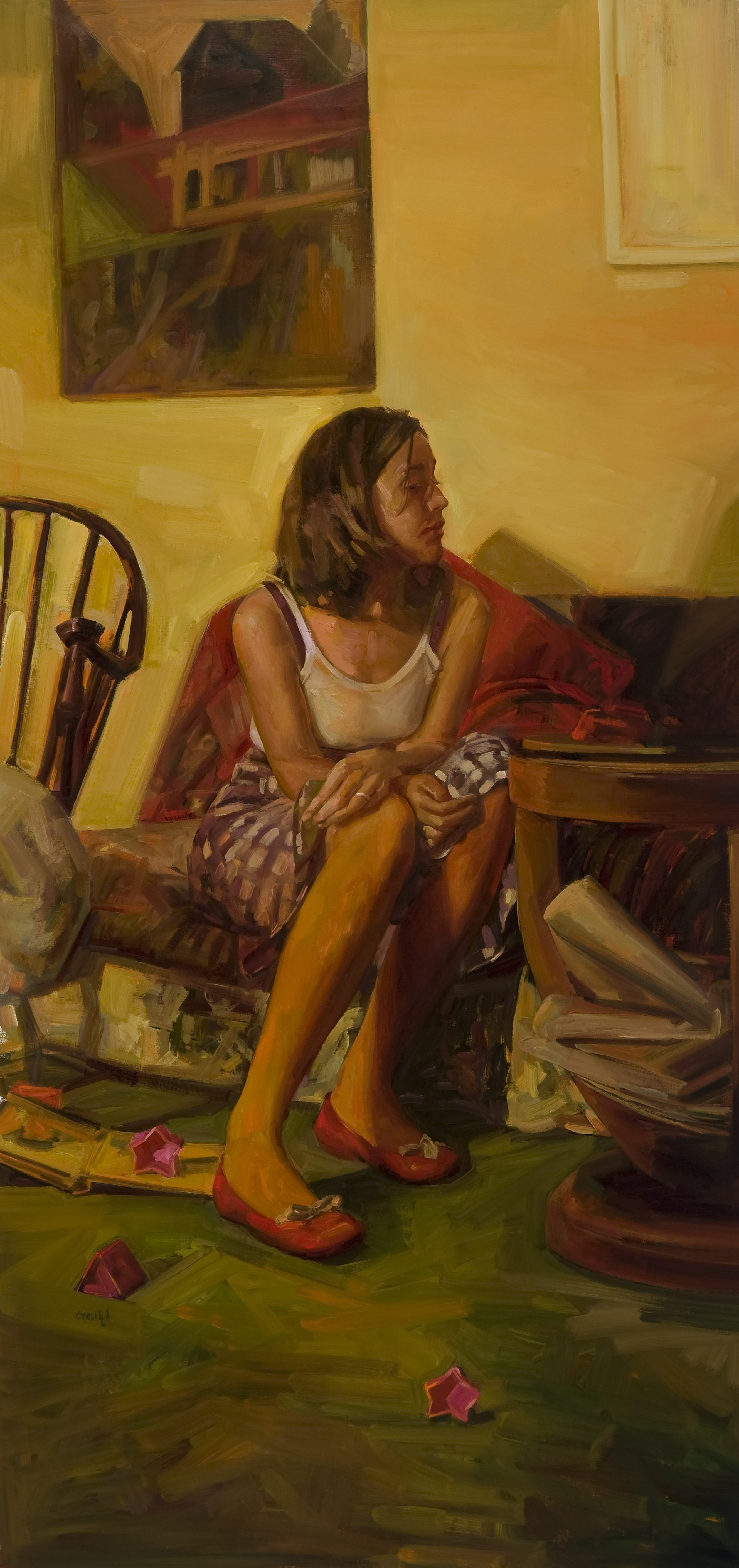 Mother Painter Wife Alice Byrne 210 x 96cm