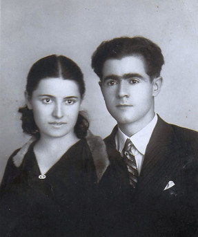 Kemal Bilbaşar'ın Bedia Bilge  ile nişanlandıgi yil1934