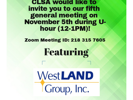 5th General Meeting Announcement