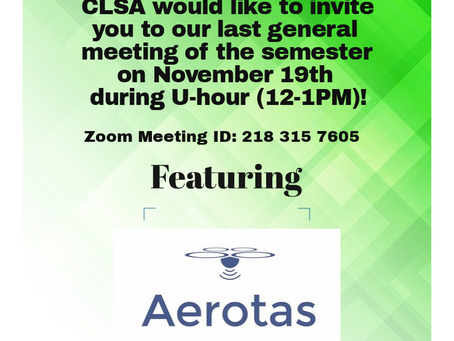 6th General Meeting Announcement