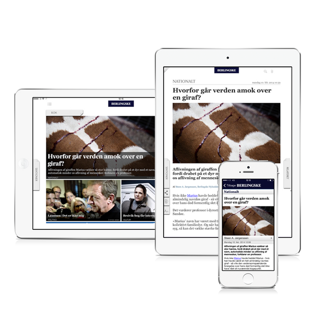 Berlingske - native iOS and Android