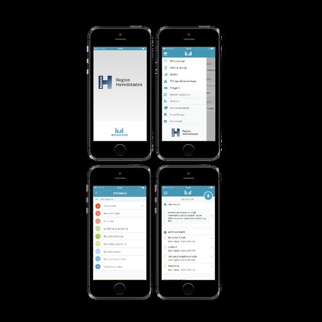 Monsenso - Native smartphone app