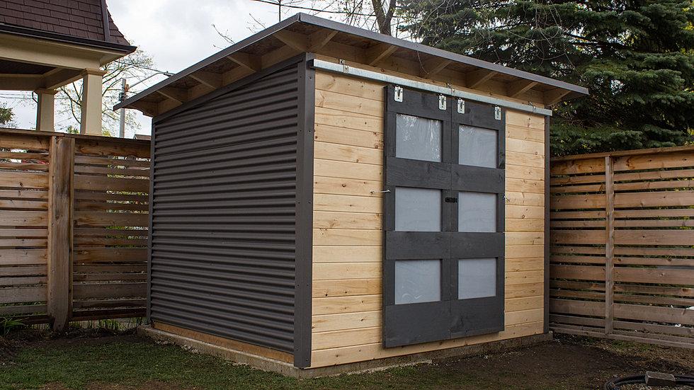modern 10x8 garden shed