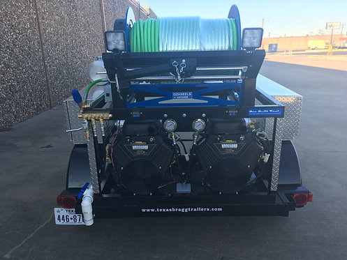 18GPM Skid Mount Hydro Jetter