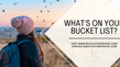 What's on your Travel Bucket List?                2021 and beyond...