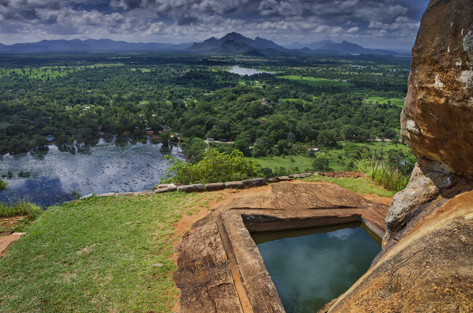 Sigiriya - view from the top