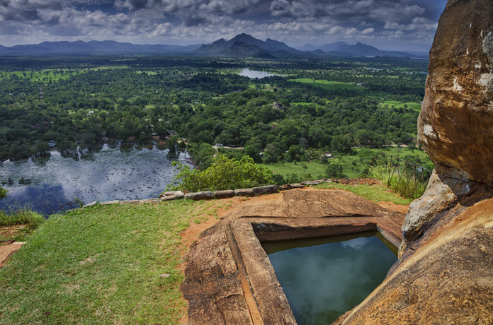 Sigiriya - view from the top