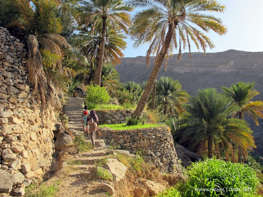 Jebel Akhdar - The Village Walk