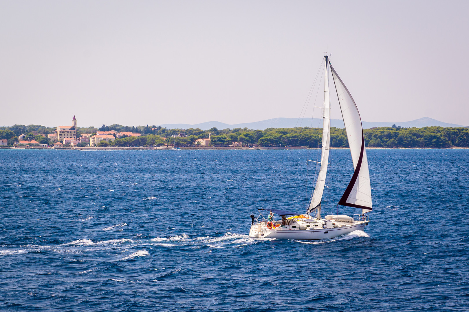 Sailing on the Adriatic Sea