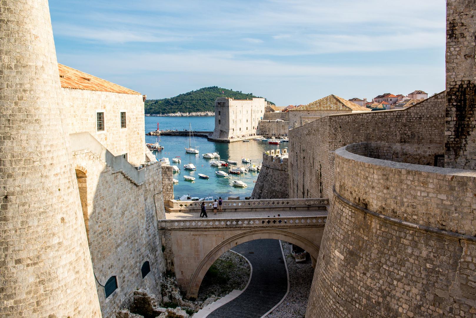 Ploče gates in Dubrovnik