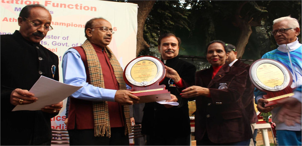 Shri. Vijay Goel, honorable minister of state, for Youth Affairs and Sports.