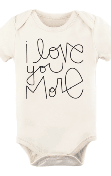 I Love You More Baby Onesie