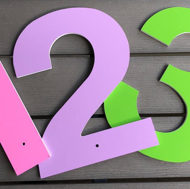 Numbers Pastel