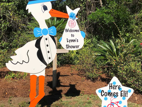 Planning a Baby Shower? Book Now! Orlando, FL - Stork Lady