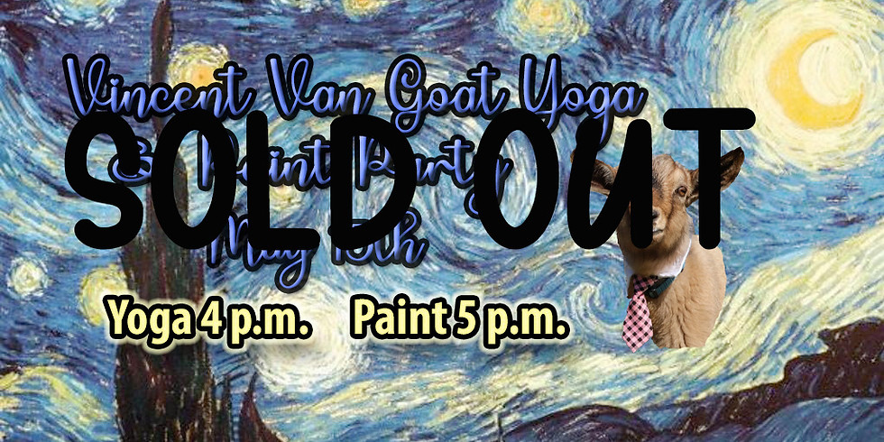 Vincent Van Goat Yoga & Paint Party