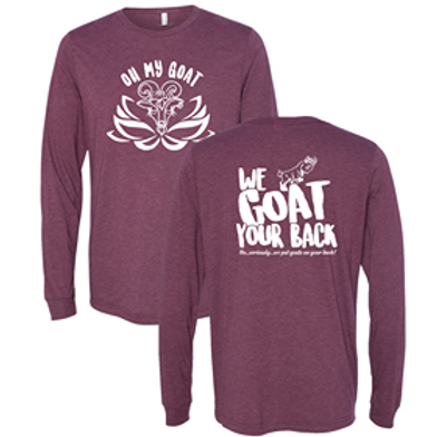We Goat Your Back Long Sleeve