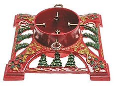 Hull Christmas Trees - Bows & Bells Cast Iron Stand