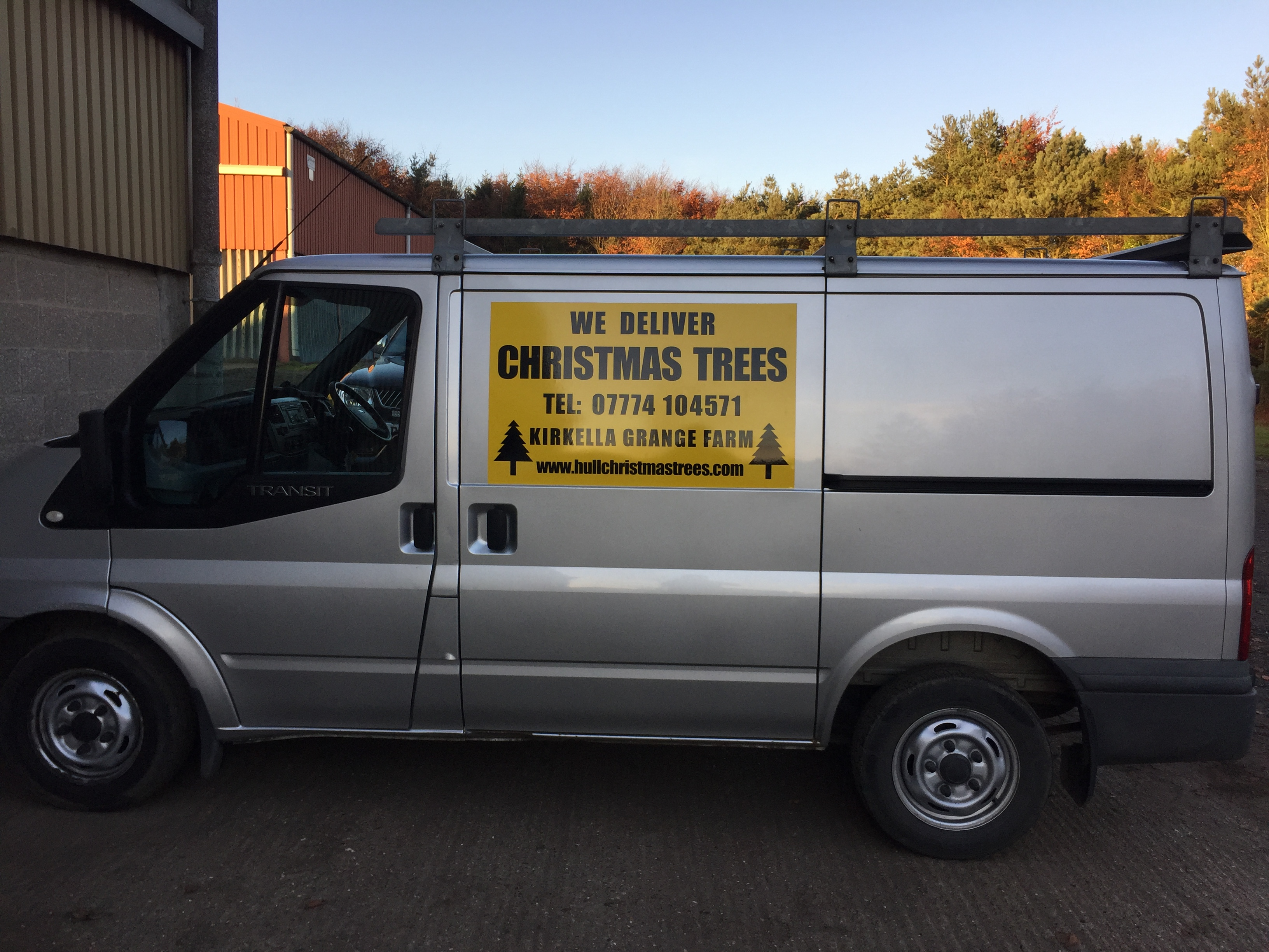 Hull Christmas Trees Deliver