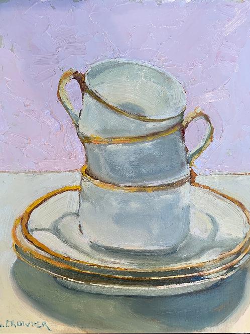 "Teacups 8X10"" SOLD"
