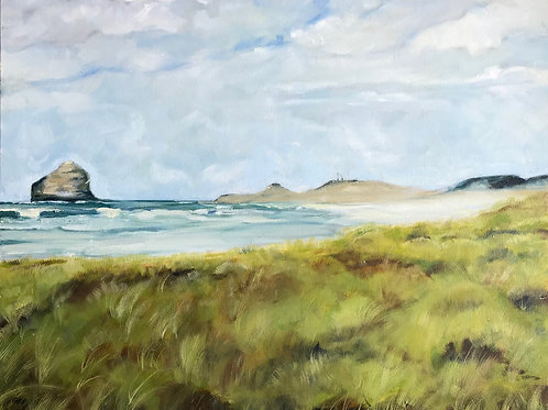 """Spring in Pacific City 24X30"""""""