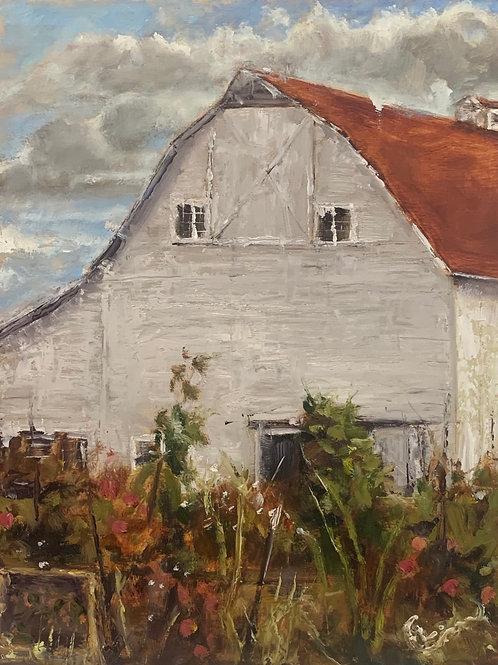 """October at Luscher Farm 9X11"""""""