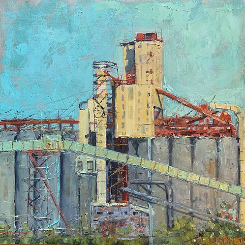 """Waterfront Mill 12X12"""" SOLD"""